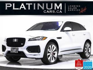 Used 2017 Jaguar F-PACE S, 380HP, 22 INCH, REAR ENTERTAINMENT, NAV, PANO for sale in Toronto, ON