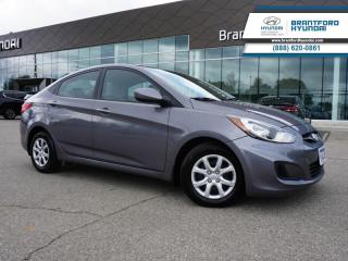 Used 2014 Hyundai Accent 1 OWNER | BLUETOOTH | HTD SEATS  - $60 B/W for sale in Brantford, ON