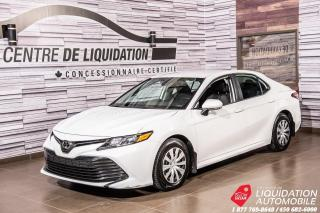Used 2019 Toyota Camry CAMERA DE RECUL+AIR CLIM+GR ELECTRIQUE for sale in Laval, QC
