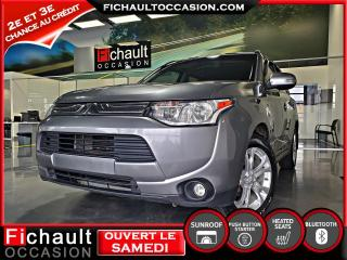 Used 2014 Mitsubishi Outlander SE, Traction intégrale ** 7 PASSAGERS** for sale in Châteauguay, QC