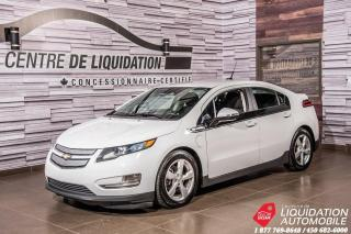 Used 2013 Chevrolet Volt CAMERA DE RECUL+MAGS+GR ELECTRIQUE+AIR CLIM for sale in Laval, QC