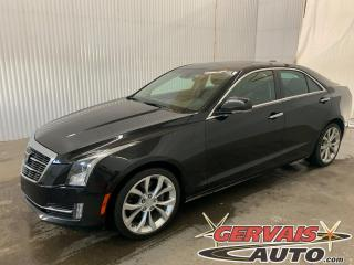 Used 2015 Cadillac ATS Performance AWD V6 Cuir Toit Ouvrant Mags *Traction intégrale V6* for sale in Trois-Rivières, QC