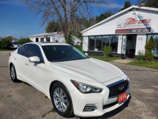 Used 2014 Infiniti Q50 Q 50 for sale in Barrie, ON