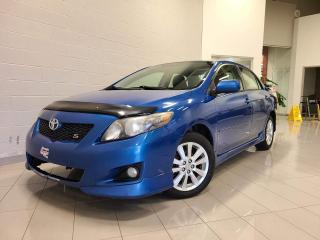 Used 2009 Toyota Corolla S **NOUVEL ARRIVAGE** for sale in Chicoutimi, QC