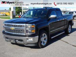 Used 2015 Chevrolet Silverado 1500 LTZ  - Leather Seats for sale in Kanata, ON
