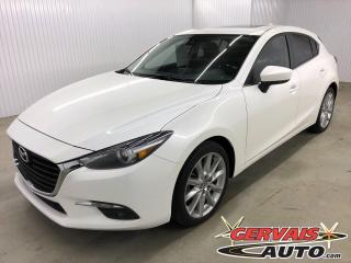 Used 2017 Mazda MAZDA3 GT Sport 2.5 GPS Toit Ouvrant Mags for sale in Shawinigan, QC