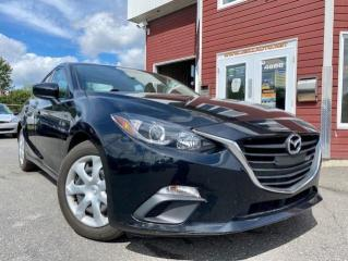 Used 2016 Mazda MAZDA3 Berline 4 portes, boîte manuelle, GX for sale in Drummondville, QC