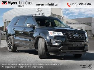 Used 2017 Ford Explorer XLT  - Heated Seats -  Bluetooth for sale in Ottawa, ON