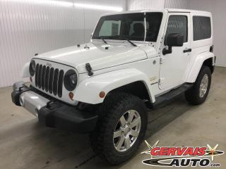 Used 2013 Jeep Wrangler Sahara 4x4 MAGS *Deux Toits* for sale in Shawinigan, QC