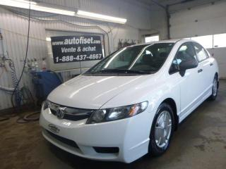 Used 2009 Honda Civic 4dr Auto DX-G for sale in St-Raymond, QC