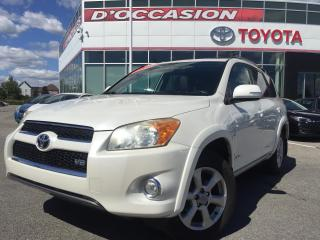 Used 2009 Toyota RAV4 4WD V6 Limited **CUIR/TOIT/JBL/CAMERA** for sale in St-Eustache, QC