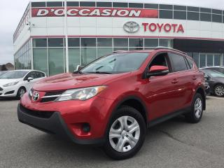 Used 2015 Toyota RAV4 LE AWD CAMERA RECUL for sale in St-Eustache, QC
