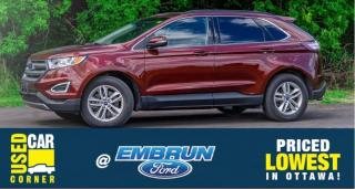Used 2016 Ford Edge SEL for sale in Embrun, ON