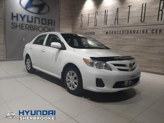 Used 2013 Toyota Corolla CE AIR CLIM PORTES ET MIROIRS ÉLECTRIQUE for sale in Sherbrooke, QC