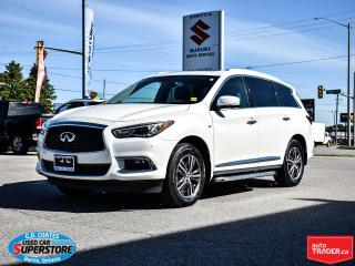 Used 2018 Infiniti QX60 AWD ~7 Passenger ~Nav ~Camera ~Leather ~Moonroof for sale in Barrie, ON