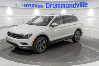 Used 2018 Volkswagen Tiguan HIGHLINE + GARANTIE + NAVI + TOIT PANO + for sale in Drummondville, QC