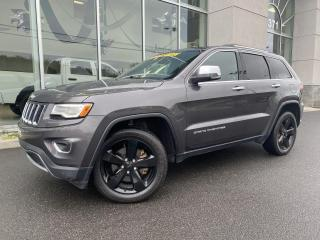 Used 2016 Jeep Grand Cherokee Limited , 4X4 , A/C , NAV , CAM. DE RECU for sale in Ste-Agathe-des-Monts, QC