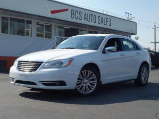 Used 2012 Chrysler 200 Limited, Navigation, Leather, Power Sunroof, Clean for sale in Vancouver, BC