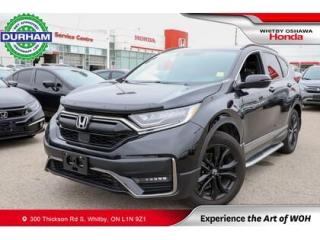 Used 2020 Honda CR-V Black Edition for sale in Whitby, ON