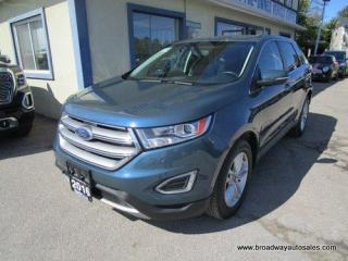 Used 2016 Ford Edge ALL-WHEEL DRIVE SEL MODEL 5 PASSENGER 3.5L - V6.. NAVIGATION.. LEATHER.. HEATED SEATS.. BACK-UP CAMERA.. SYNC TECHNOLOGY.. POWER FOLD REAR SEATS.. for sale in Bradford, ON