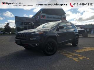 Used 2018 Jeep Cherokee Trailhawk Leather Plus  4x4, Safety & Tech Group & Tow pkg - $209 B/W for sale in Ottawa, ON