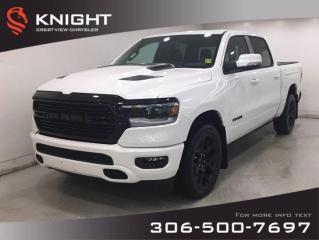 New 2020 RAM 1500 Sport Crew Cab Night Edition | Leather | Sunroof | Navigation | RamBox | for sale in Regina, SK