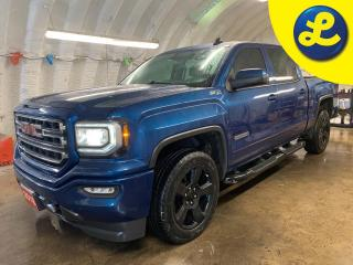 Used 2018 GMC Sierra 1500 Elevation Z71 4WD Crew Cab  * 20 Black Alloy Rims * Auto Start * Black step bars/Rear Bumper Side Steps * Bed liner * Heated Seats *  Trailer Brake C for sale in Cambridge, ON
