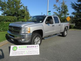 Used 2011 Chevrolet Express 2500 HD 6.6 DURAMAX DIESEL, LT CREW, SHORT, 4X4, INSP, BCAA MBSHP, WARR, FINANCE! for sale in Surrey, BC