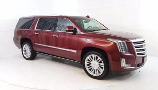 Used 2016 Cadillac Escalade ESV Platinum AWD, 6.2L V8 Power Moonroof, Navi. DVD, H for sale in Winnipeg, MB