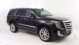 Used 2016 Cadillac Escalade Premium Collection AWD, 6.2L V8, Power Moonroof, N for sale in Winnipeg, MB