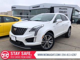 New 2021 Cadillac XT5 Premium Luxury for sale in Winnipeg, MB