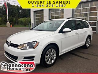 Used 2016 Volkswagen Golf Wagon 1.8 TSI Trendline *JAMAIS ACCIDENTE* for sale in Donnacona, QC