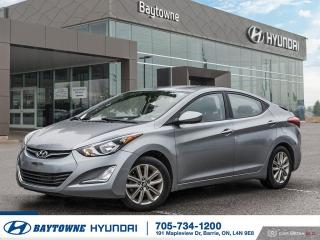 Used 2015 Hyundai Elantra SE at for sale in Barrie, ON