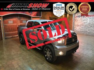 Used 2010 Toyota Tundra CrewMax 5.7L SR5 - BIG UPGRADES!! for sale in Winnipeg, MB