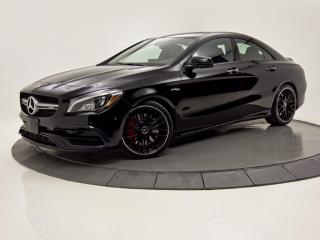 Used 2018 Mercedes-Benz CLA-Class AMG CLA 45 4MATIC BLACK ON BLACK for sale in Brossard, QC
