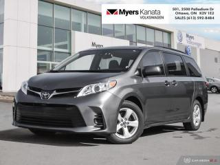 Used 2019 Toyota Sienna LE 8 Passenger  - Heated Seats for sale in Kanata, ON