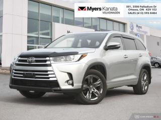 Used 2018 Toyota Highlander Limited AWD  - Navigation for sale in Kanata, ON