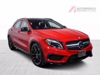 Used 2016 Mercedes-Benz GLA GLA45 AMG Sport Pack 4Matic Cuir Toit Pano GPS for sale in St-Hubert, QC