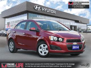 Used 2014 Chevrolet Sonic LT  - Bluetooth -  SisiurXM - $92 B/W for sale in Nepean, ON