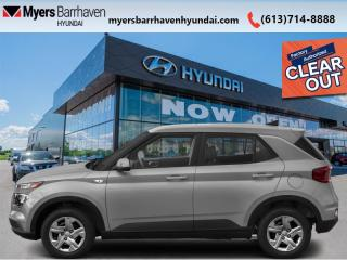 New 2020 Hyundai Venue Preferred  - Aluminum Wheels - $149 B/W for sale in Nepean, ON