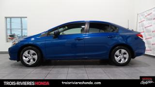 Used 2015 Honda Civic LX + GARANTIE 7/160 + CAMÉRA  + BLUETOOT for sale in Trois-Rivières, QC