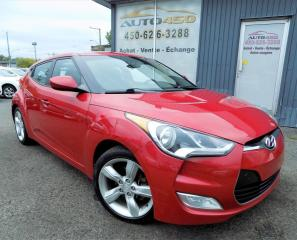 Used 2013 Hyundai Veloster *AUTOMATIQUE,SPORTIVE,MAGS,BIEN ÉQUIPÉ* for sale in Longueuil, QC