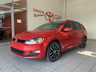 Used 2017 Volkswagen Golf Sportwagen DSG 1.8 TSI 4MOTION * TOIT PANORAMIQUE * for sale in Mirabel, QC