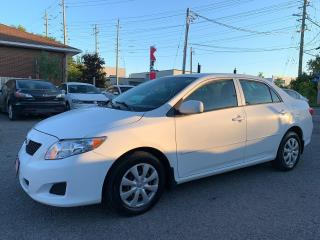 Used 2009 Toyota Corolla CE, AUTOMATIC, AIR CONDITION, 165KM for sale in Ottawa, ON
