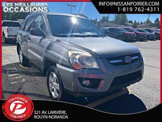 Used 2009 Kia Sportage LX for sale in Rouyn-Noranda, QC