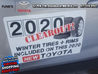 New 2020 Toyota RAV4 LE  - Heated Seats for sale in Steinbach, MB