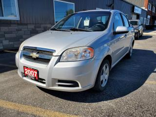 Used 2007 Chevrolet Aveo LS for sale in Tilbury, ON