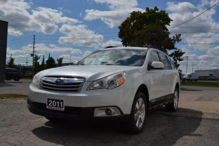 Used 2011 Subaru Outback 3.6R w/Limited & Nav Pkg for sale in Kitchener, ON