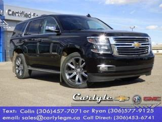 Used 2015 Chevrolet Tahoe LTZ for sale in Carlyle, SK