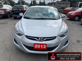 Used 2013 Hyundai Elantra GL  -  Cruise Control - $35.34 /Wk for sale in Hamilton, ON